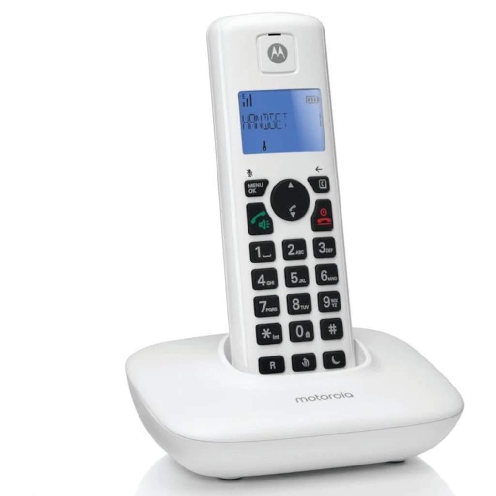 Motorola T401+ Handsfree Dect Telsiz Telefon Beyaz