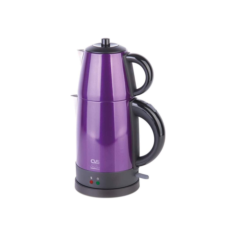 CVS DN-1515 Sudem Deluxe Violet 1800 W Çelik Çay Makinesi